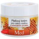 Bione Cosmetics Honey + Q10 krema za obraz za vso družino z medom 260 ml