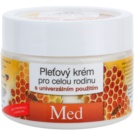 Bione Cosmetics Honey + Q10 crema facial para toda la familia con miel  260 ml