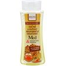 Bione Cosmetics Honey + Q10 2-Phasen Abschminkwasser für Gesicht und Augen (Emulsifiers and Parabens Free) 255 ml