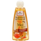 Bione Cosmetics Honey + Q10 regenerační sprchový gel (Parabens and Silicons Free) 260 ml