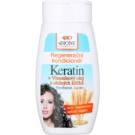 Bione Cosmetics Keratin Grain regenerační kondicionér pro všechny typy vlasů (Keratin, Panthenol, Lecithin, Vitamins B1, B2, B6) 250 ml