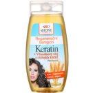 Bione Cosmetics Keratin Grain regenerační šampon pro všechny typy vlasů (Keratin, Panthenol, Lecithin, Vitamins B1, B2, B6) 250 ml