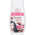 Bione Cosmetics Keratin Kofein regenerační kondicionér na vlasy (Macadamia Oil) 260 ml