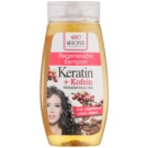 Bione Cosmetics Keratin Kofein sampon pentru regenerare (Macadamia Oil) 260 ml