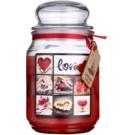 Bohemia Gifts & Cosmetics Love vonná svíčka 510 g