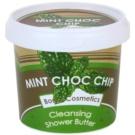 Bomb Cosmetics Mint Choc Chip sprchové maslo pre suchú pokožku (Cleansing Shower Butter) 320 g