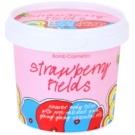 Bomb Cosmetics Strawberry Fields sprchový peeling (Shower Body Polish) 375 ml