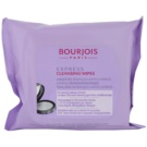 Bourjois Express čistilni robčki (Cleansing Wipes) 25 kos