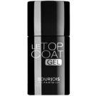 Bourjois La Lacque Gel dlouhotrvající lak na nehty odstín Transparent (Top Coat Gel) 10 ml