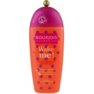 Bourjois Wake Me!  sprchové želé s vitamínmi (Invigorating Fragrance Citrus Fruit and Goji Berries) 250 ml