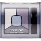 Bourjois Smoky Stories füstös árnyalatú szemhéjfesték paletta árnyalat 08 Ocean Obsession 3,2 g