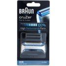 Braun CombiPack cruZer 20S Scherfolie und Scherblatt (Compatible with cruZer) 2 St.
