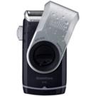 Braun MobileShave M-90 maquinilla de afeitar para viajes  color plata (Precision Trimmer, Smart Foil, Wide Floating Foil, Washable)