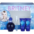 Britney Spears Fantasy Midnight set cadou II. Eau de Parfum 100 ml + Eau de Parfum 10 ml + Crema de corp 50 ml + gel de duș și baie 50 ml