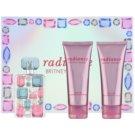 Britney Spears Radiance lote de regalo  eau de parfum 50 ml + leche corporal 100 ml + gel de ducha 100 ml