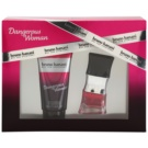 Bruno Banani Dangerous Woman set cadou Apa de Toaleta 20 ml + Gel de dus 50 ml
