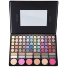 BrushArt Color Make - Up Palette With Mirror And Applicator (78 Colors)