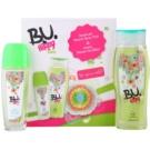 B.U. Hippy Soul dárková sada II. deodorant s rozprašovačem 75 ml + sprchový gel 250 ml