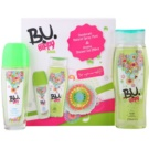 B.U. Hippy Soul set cadou II.  Deodorant spray 75 ml + Gel de dus 250 ml