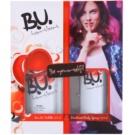 B.U. Heartbeat zestaw upominkowy I. woda toaletowa 50 ml + dezodorant w sprayu 150 ml
