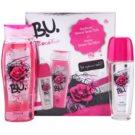 B.U. RockMantic dárková sada I. deodorant s rozprašovačem 75 ml + sprchový gel 250 ml