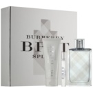 Burberry Brit Splash darilni set I. toaletna voda 100 ml + toaletna voda 7,5 ml + krema za obraz in telo 75 ml