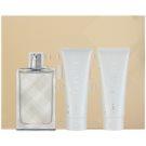 Burberry Brit Splash Geschenkset I.  Eau de Toilette 100 ml + Duschgel 75 ml + Körper-Gel 75 ml