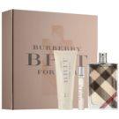 Burberry Brit set cadou XII. Eau de Parfum 100 ml + Lotiune de corp 75 ml + Eau de Parfum 7,5 ml