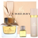 Burberry My Burberry set cadou Eau de Parfum 90 ml + Deo-Spray 100 ml + Gel de dus 30 ml