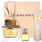Burberry My Burberry Geschenkset I. Eau de Parfum 90 ml + Deo-Spray 100 ml + Duschgel 30 ml
