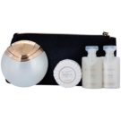Bvlgari AQVA Divina zestaw upominkowy III. woda toaletowa 65 ml + mydło 50 g + żel pod prysznic 40 ml + mleczko do ciała 40 ml + torebka kosmetyczna
