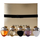 Bvlgari The Jewel Charms Collection lote de regalo I.- Omnia Amethyste EDT,Mon Jasmin Noir EDP, O. Indian Garnet EDT, Jasmin Noir EDP, Omnia Crystalline EDT eau de parfum 2 x 25 ml + eau de toilette