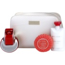 Bvlgari Omnia Coral Gift Set V. Eau De Toilette 65 ml + Body Milk 75 ml + Soap 75 g + Cosmetic Bag 1 ks