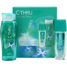C-THRU Emerald Shine coffret II. deo stick 75 ml + gel de duche 250 ml
