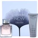 Calvin Klein Eternity Now darilni set I. toaletna voda 100 ml + gel za prhanje 100 ml