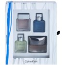 Calvin Klein Mini for Men ajándékszett XII. Reveal + Eternity Aqua + Eternity + Euphoria Eau de Toilette 4 x 15 ml