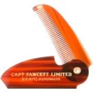 Captain Fawcett Accessories розкладний гребінець для вусів (Folding Pocket Moustache Comb, Length 117 mm)