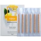 Caption Tuscan Lemon Fragranced Sticks 6 pc for Car interiors