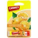 Carmex Sweet Orange hydratační balzám na rty v tyčince  4,25 g