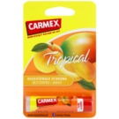 Carmex Tropical balsam nawilżający do ust w sztyfcie (Peach and Mango) 4,25 g