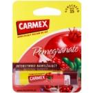 Carmex Pomegranate feuchtigkeitsspendender Balsam-Stick für die Lippen SPF 15 4,25 g