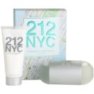 Carolina Herrera 212 NYC Gift Set XIII.  Eau De Toilette 100 ml + Body Milk 100 ml