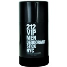 Carolina Herrera 212 VIP Men desodorante en barra para hombre 75 ml