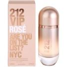 Carolina Herrera 212 VIP Rose Eau de Parfum para mulheres 80 ml