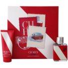 Carolina Herrera CH CH Men Sport ajándékszett I. Eau de Toilette 50 ml + borotválkozás utáni balzsam 100 ml