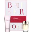 Cartier Baiser Volé ajándékszett XIV.   Eau de Parfum 50 ml + tusfürdő gél 100 ml