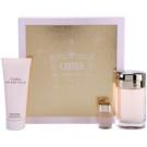 Cartier Baiser Volé dárková sada XI. parfemovaná voda 100 ml + tělový krém 100 ml + parfemovaná voda 6 ml