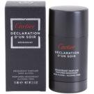Cartier Declaration d'Un Soir stift dezodor férfiaknak 75 ml