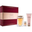 Cartier La Panthere Geschenkset III. Eau de Parfum 75 ml + Körpercreme 100 ml + Eau de Parfum 6 ml