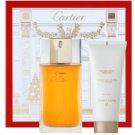 Cartier Must De Cartier dárková sada II. toaletní voda 100 ml + tělový krém 100 ml